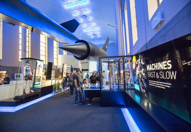 Science Museum of Virginia Speed Exhibit, Richmond, VA | Copyright 2RW Consultants