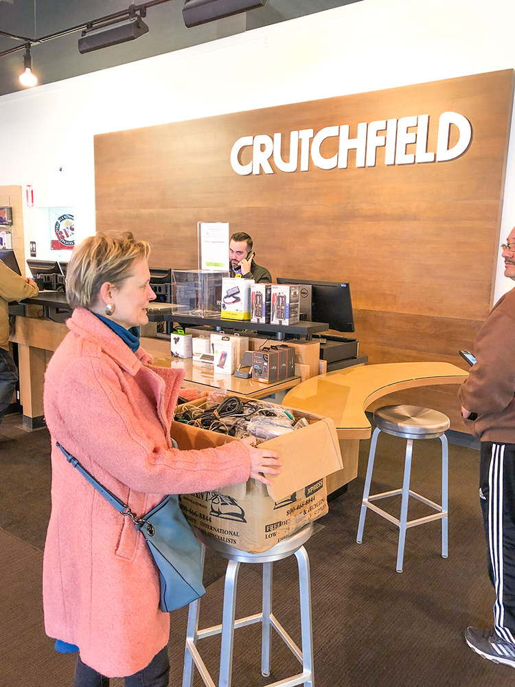 Crutchfield Donation